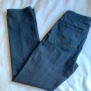 NYDJ Dark wash skinny jeans